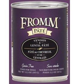 Fromm Fromm Dog GF Venison & Lentil 12.2oz