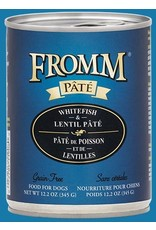Fromm Fromm Dog GF Whitefish & Lentil 12.2oz