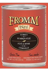Fromm Fromm Dog GF Turkey & Pumpkin 12.2oz