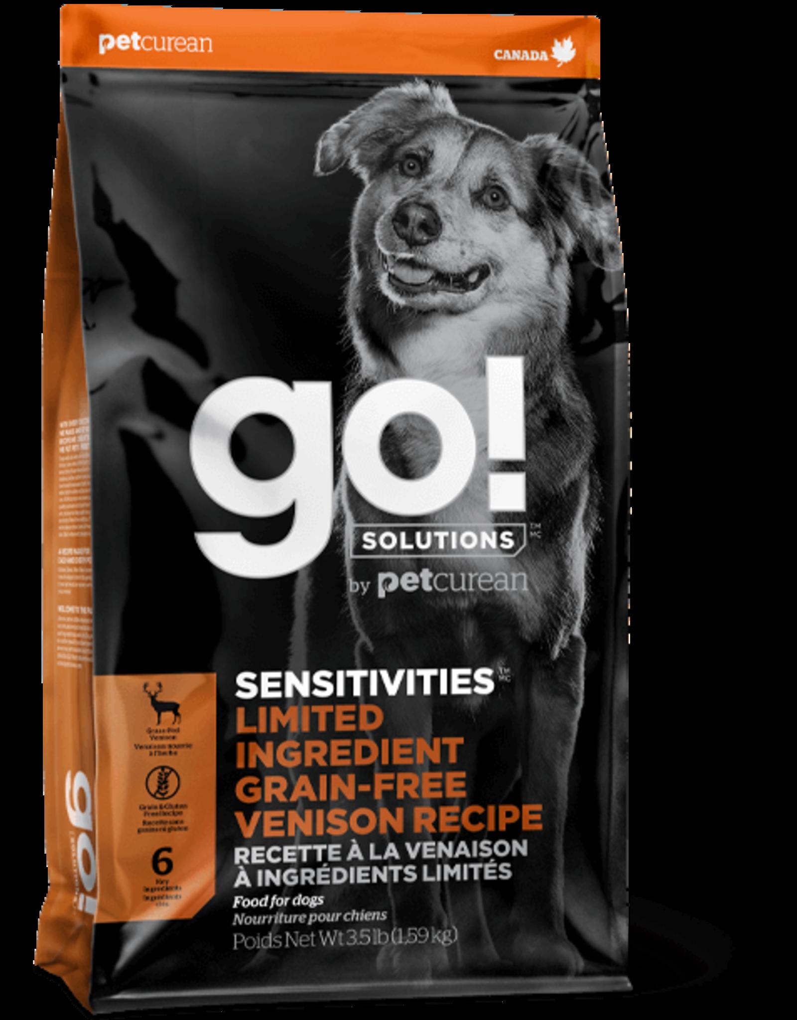 Go! go! Dog LID Venison