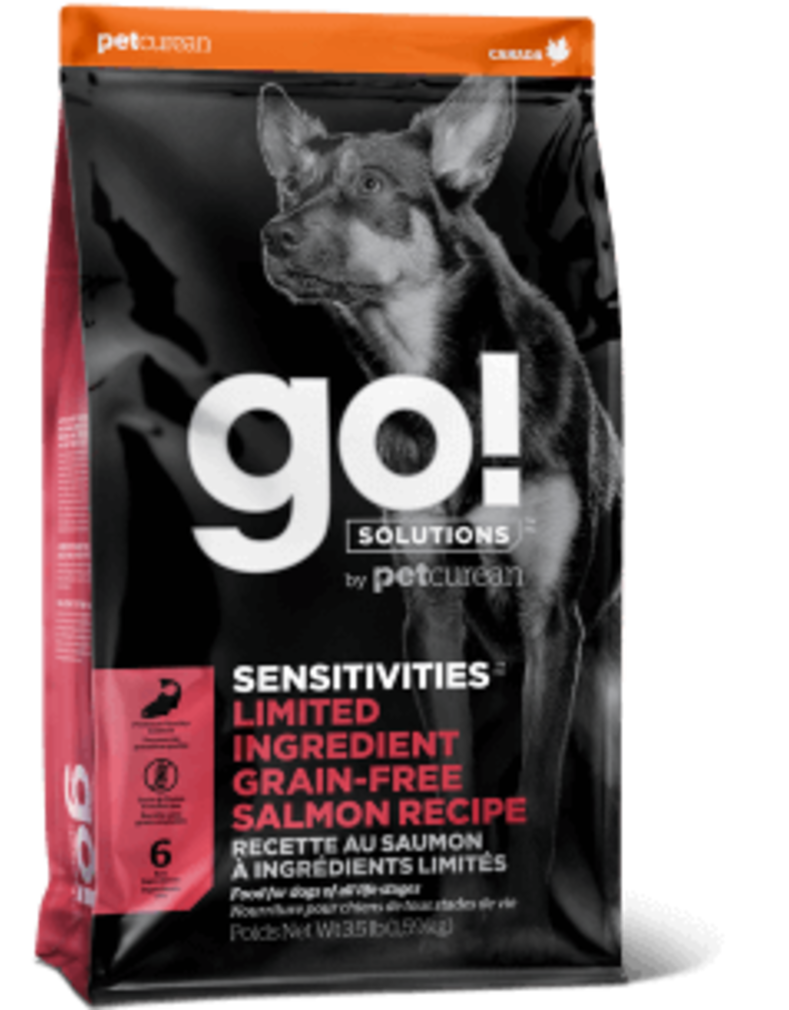 Go! go! Dog LID Salmon