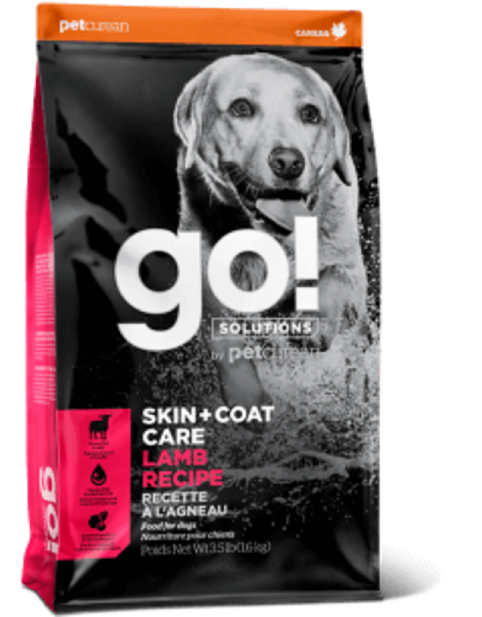 Go! go! Dog Skin & Coat Care Lamb