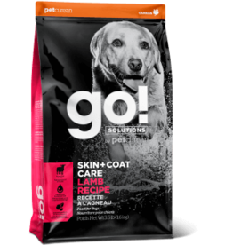 Go! go! Dog Skin & Coat Care Lamb