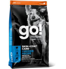 Go! go! Dog Skin & Coat Care Chicken