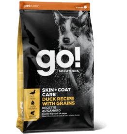 Go! go! Dog Skin & Coat Care Duck