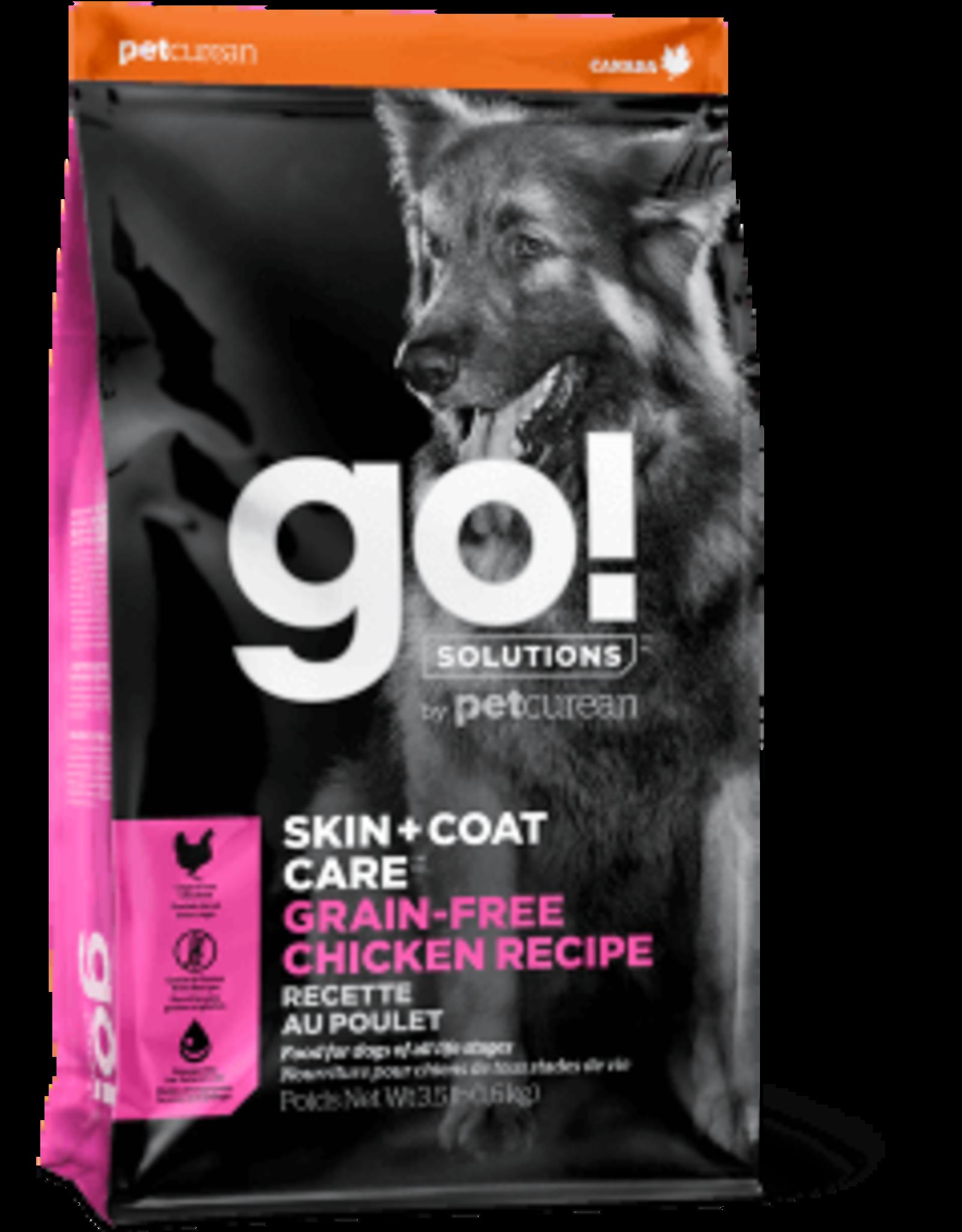 Go! go! Dog Skin & Coat Care GF Chicken