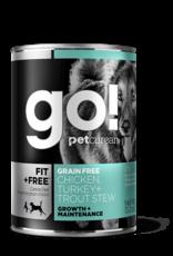 Go! Go! Dog Chicken, Turkey and Trout Stew D1027