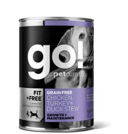Go! Go! Dog Chicken, Turkey and Duck Stew 13.2oz