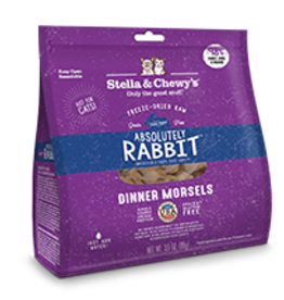 Stella & Chewy's Stella & Chewy's Freeze Dried Cat Dinner Absolutely Rabbit