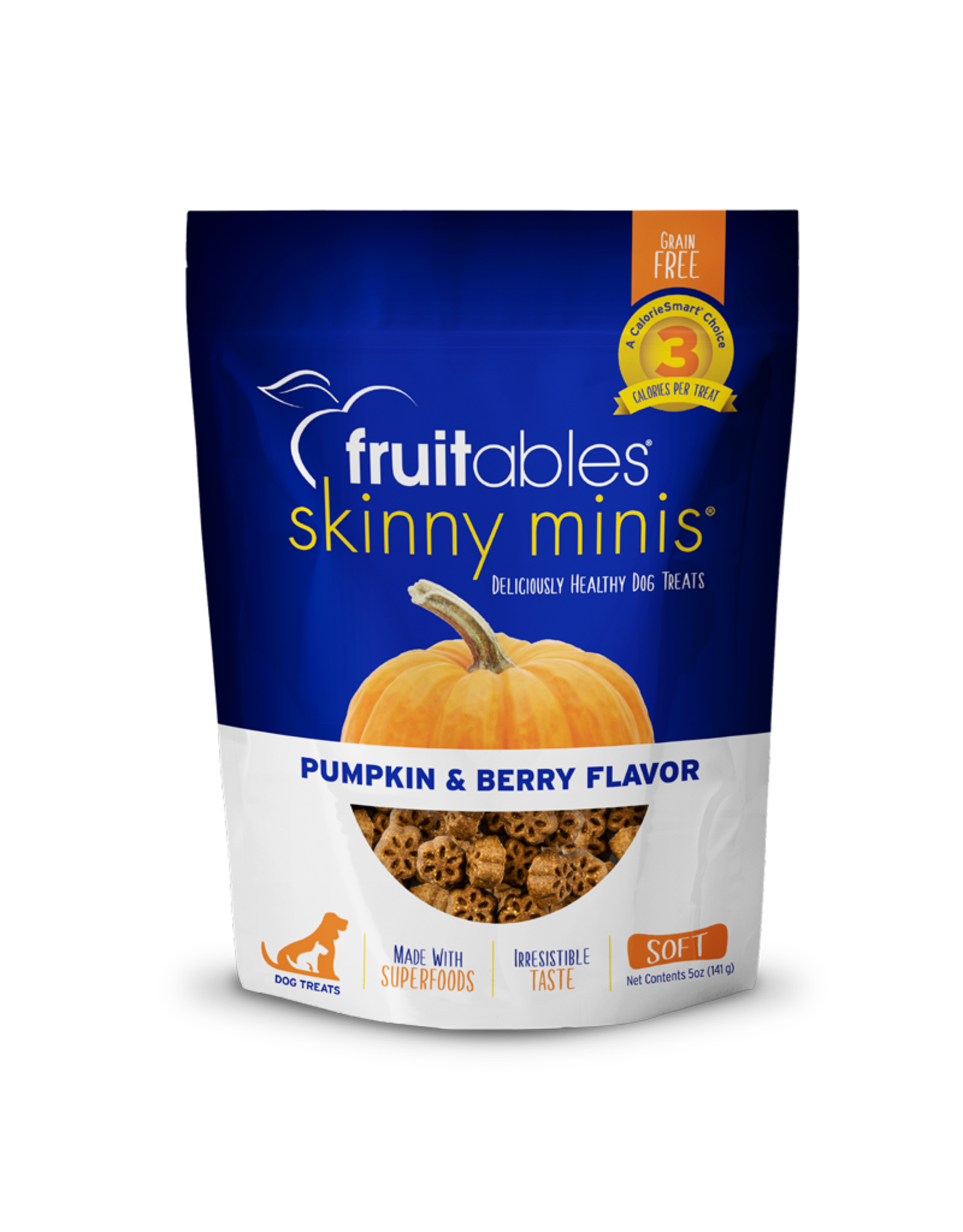 Fruitables FRUITABLES \ Pumpkin & Blueberry 7oz