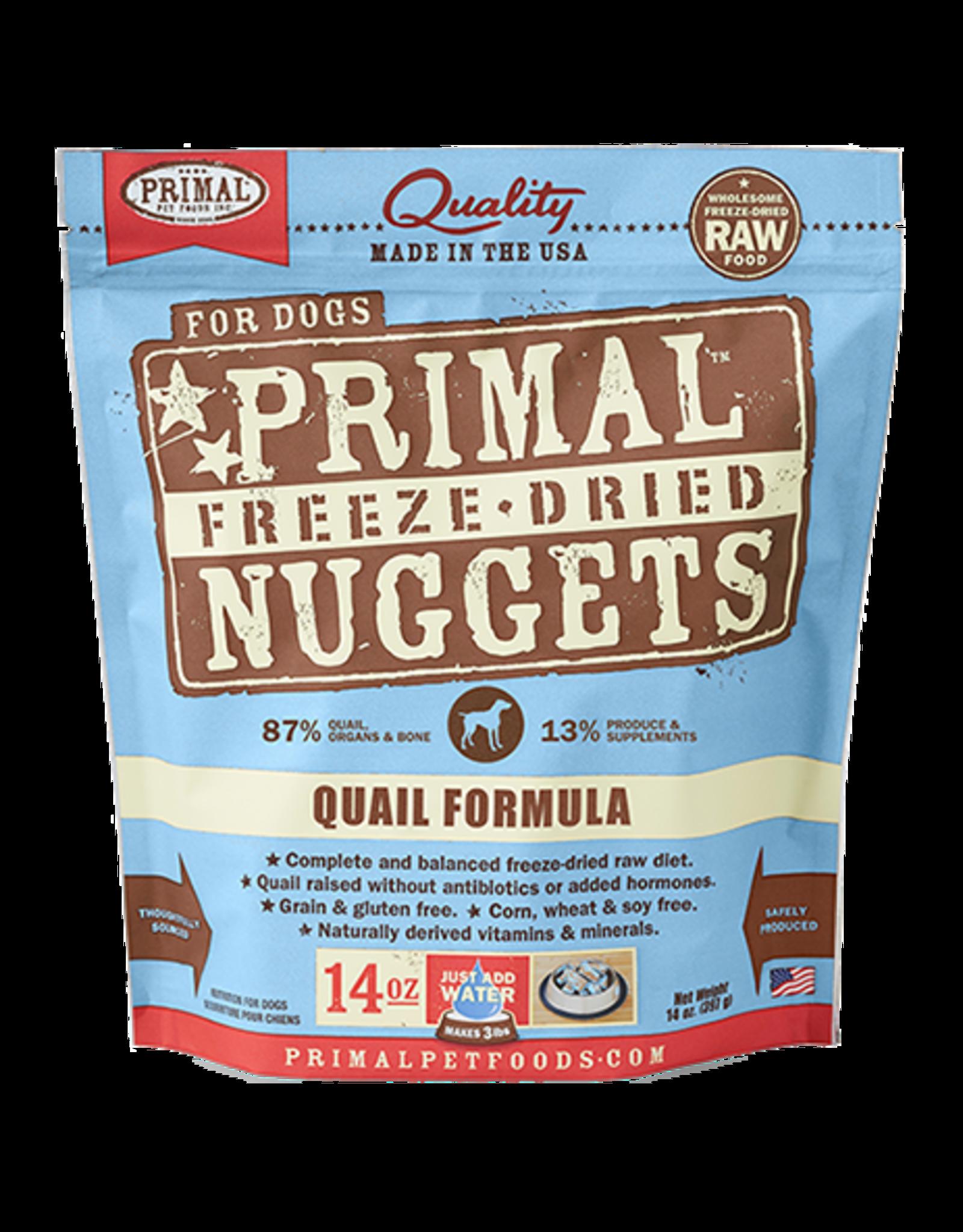 Primal Primal Freeze-Dried Canine Quail