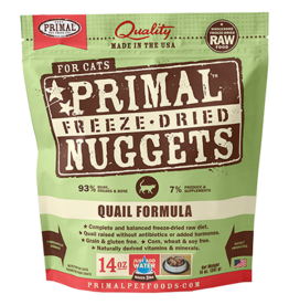 Primal Primal Freeze-Dried Feline Quail