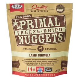 Primal Primal Freeze-Dried Canine Lamb