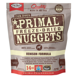 Primal Primal Freeze-Dried Canine Venison