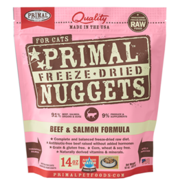 Primal Primal Freeze-Dried Feline Beef & Salmon