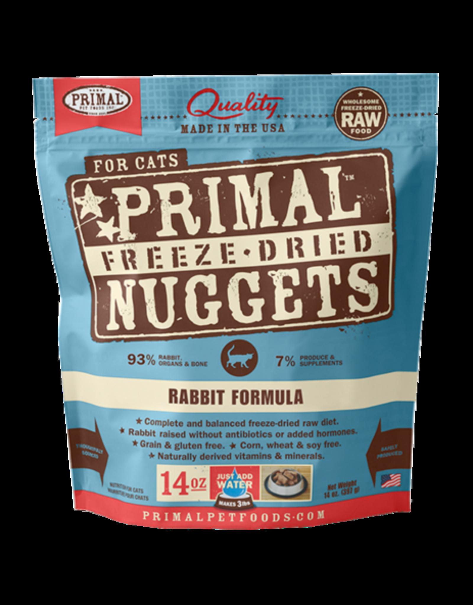 Primal Primal Freeze-Dried Feline Rabbit
