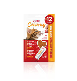 CA - Catit CatIt Creamy Mixed 12 pack