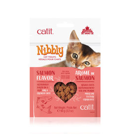 CM - Catit Food & Treats Catit Nibbly Salmon Treats 90g