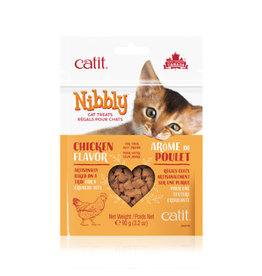 CM - Catit Food & Treats Catit Nibbly Chicken Treats 90g