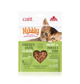 CM - Catit Food & Treats Catit Nibbly Chicken Liver Treats 90g
