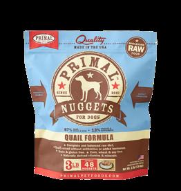 Primal Primal Frozen Canine Quail 3lb