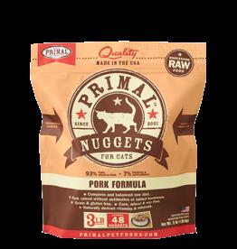 Primal Primal Frozen Feline Pork Nuggets 3lb