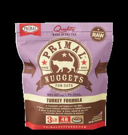 Primal Primal Frozen Feline Turkey Nuggets 3lb