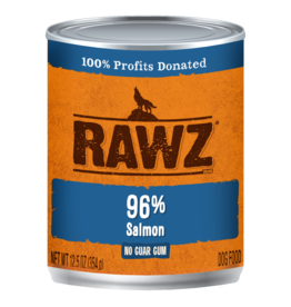 Rawz RAWZ \ DOG \ CAN \ 96% Salmon 12 x 12.5oz