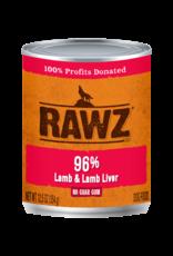 Rawz RAWZ \ DOG \ CAN \ 96% Lamb & Lamb Liver 12 x 12.5oz