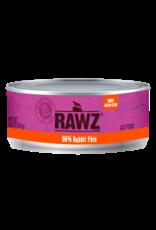 Rawz Rawz Cat 96% Rabbit Pate 5.5oz