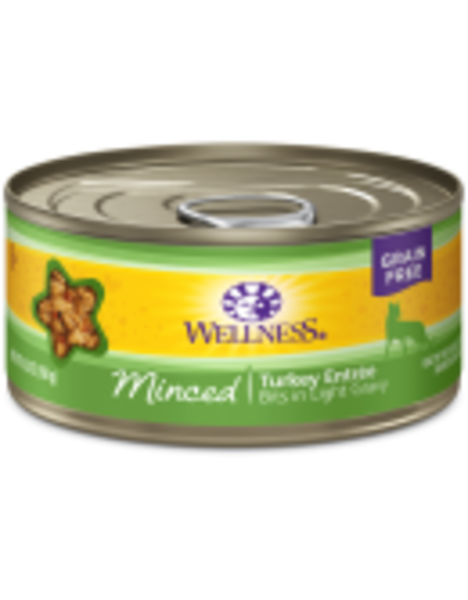 Wellness Wellness Feline Minced Turkey 5.5oz