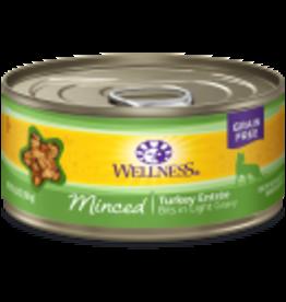 Wellness Wellness Feline Minced Turkey 5.5oz