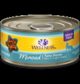 Wellness Wellness Feline Minced Tuna 5.5oz