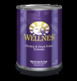 Wellness Wellness Canine Chicken & Sweet Potato 12.5oz