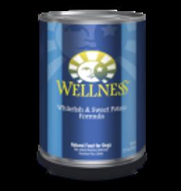Wellness Wellness Canine Fish & Sweet Potato 12.5oz