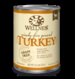 Wellness Wellness Canine 95% Turkey 13.5oz