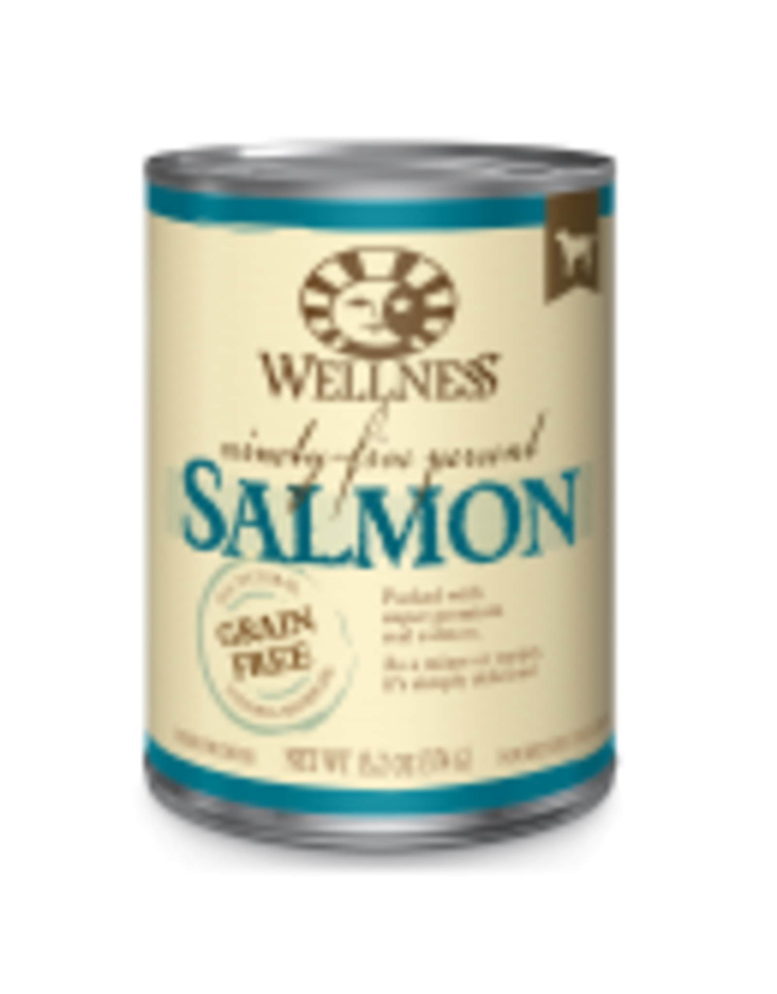 Wellness Wellness Canine 95% Salmon 13.5oz