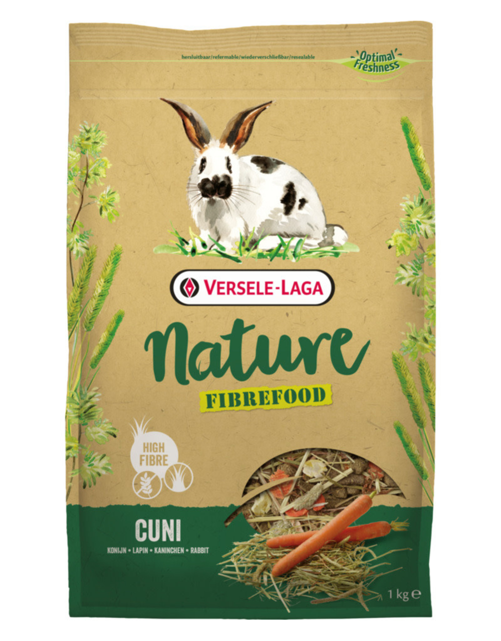Versele-Laga Versele-Laga Nature Fibrefood Cuni 1kg