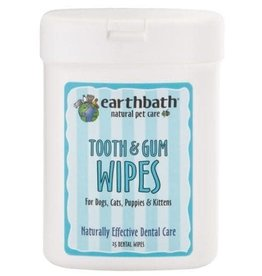 Earthbath Earthbath Grooming Wipes \ Tooth & Gums (25ct)