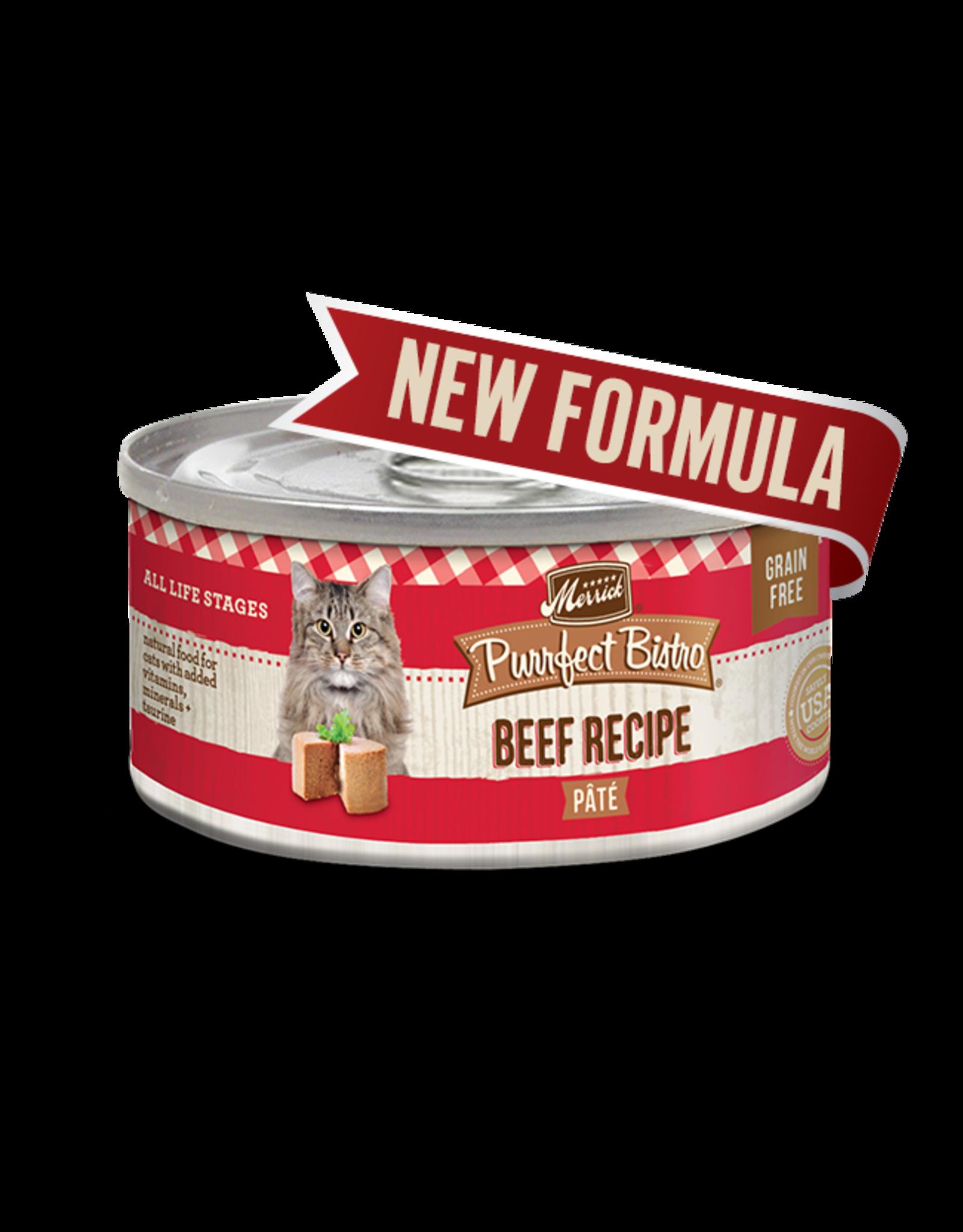 Merrick Merrick Cat Purrfect Bistro Beef Pate 5oz