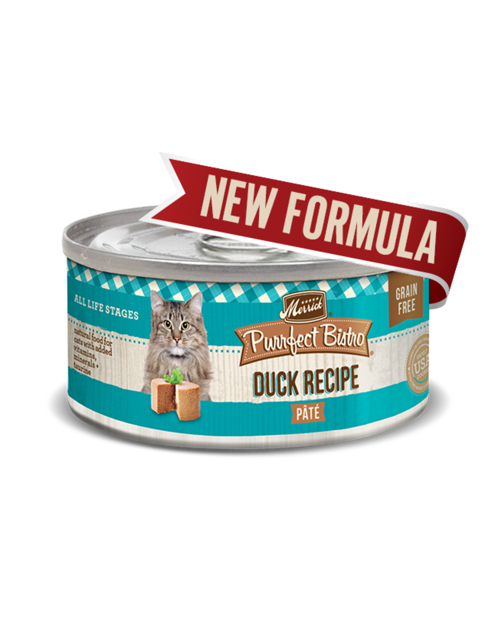 Merrick Merrick Cat Purrfect Bistro Duck Pate 5oz