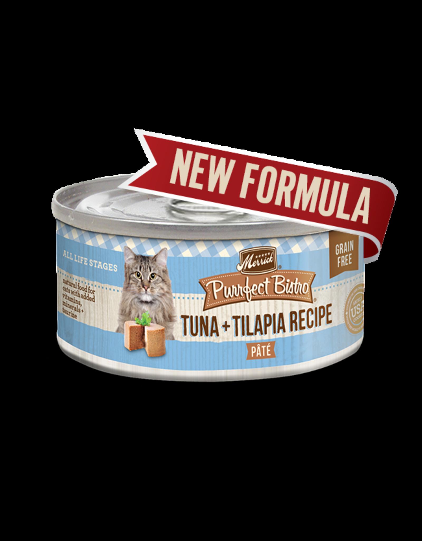 Merrick Merrick Cat Purrfect Bistro Tuna & Tilapia 5oz