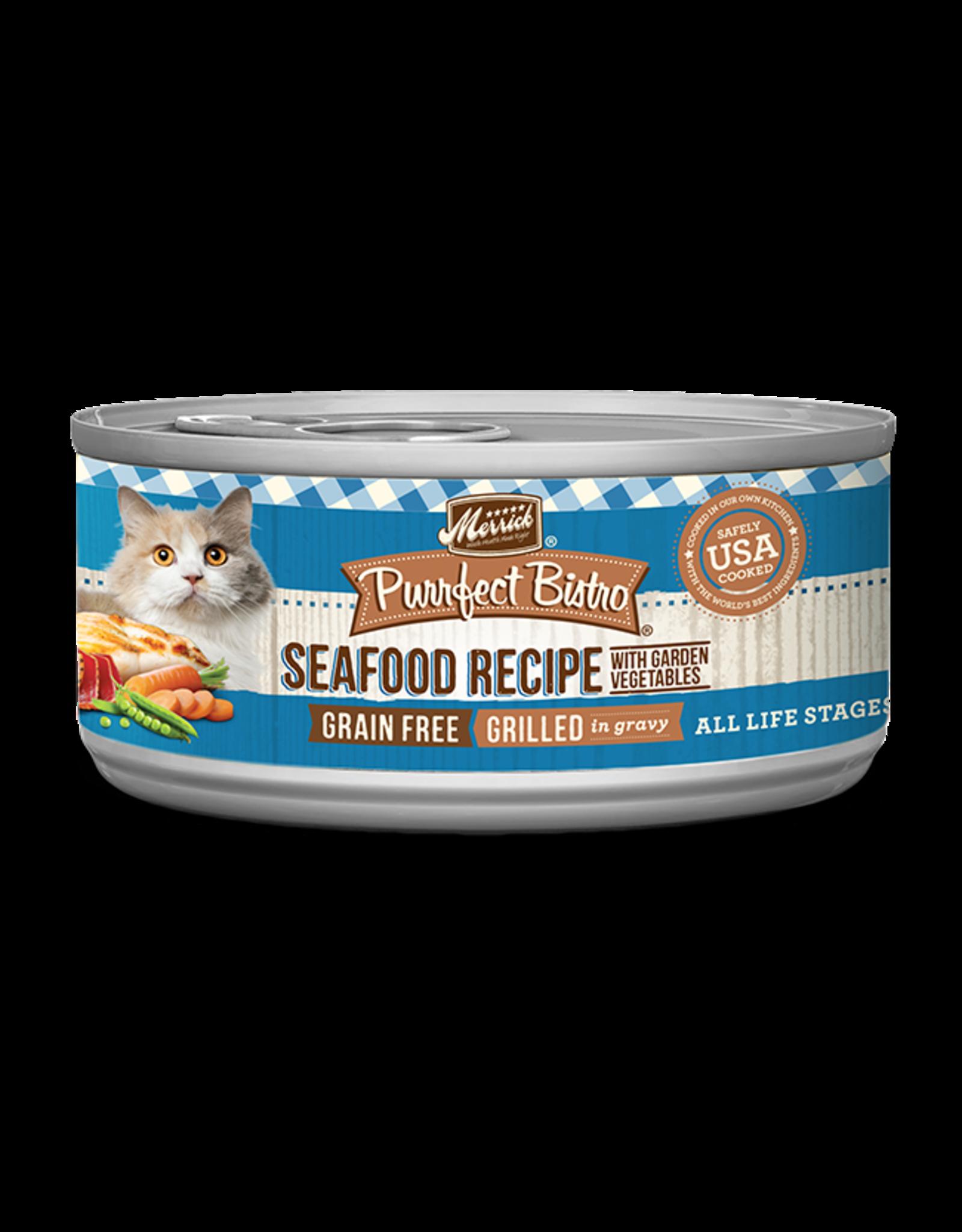 Merrick Merrick Purrfect Bistro Cat Mixed Seafood 5oz