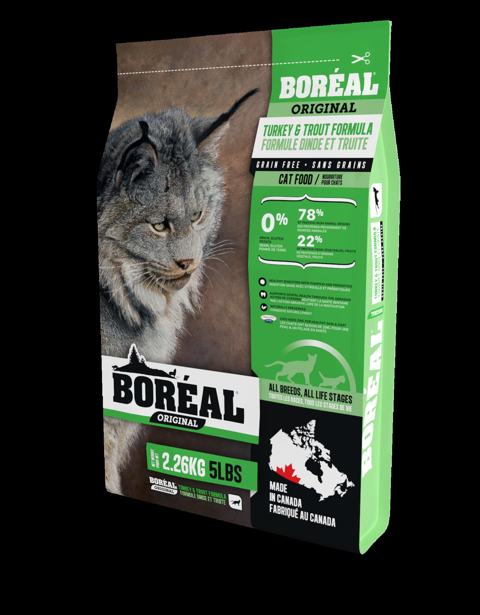 Boreal Boreal Cat Turkey & Trout