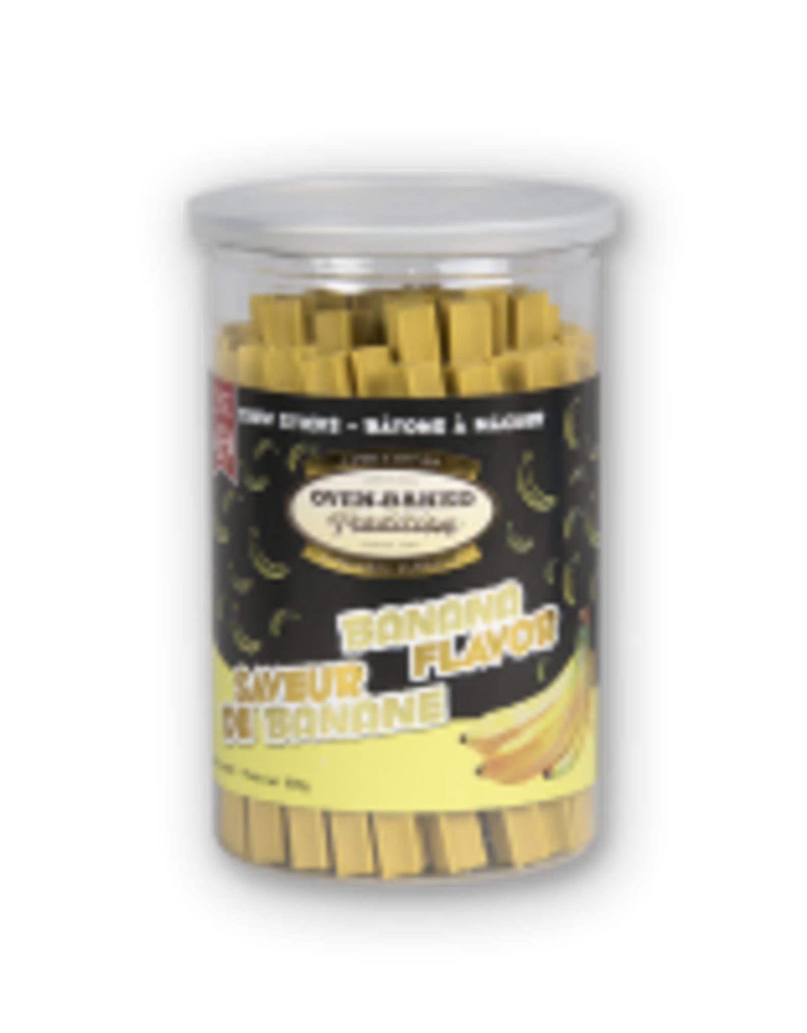Ovenbaked Tradition Oven Baked Tradition Banana Flavour Chew Sticks 500g