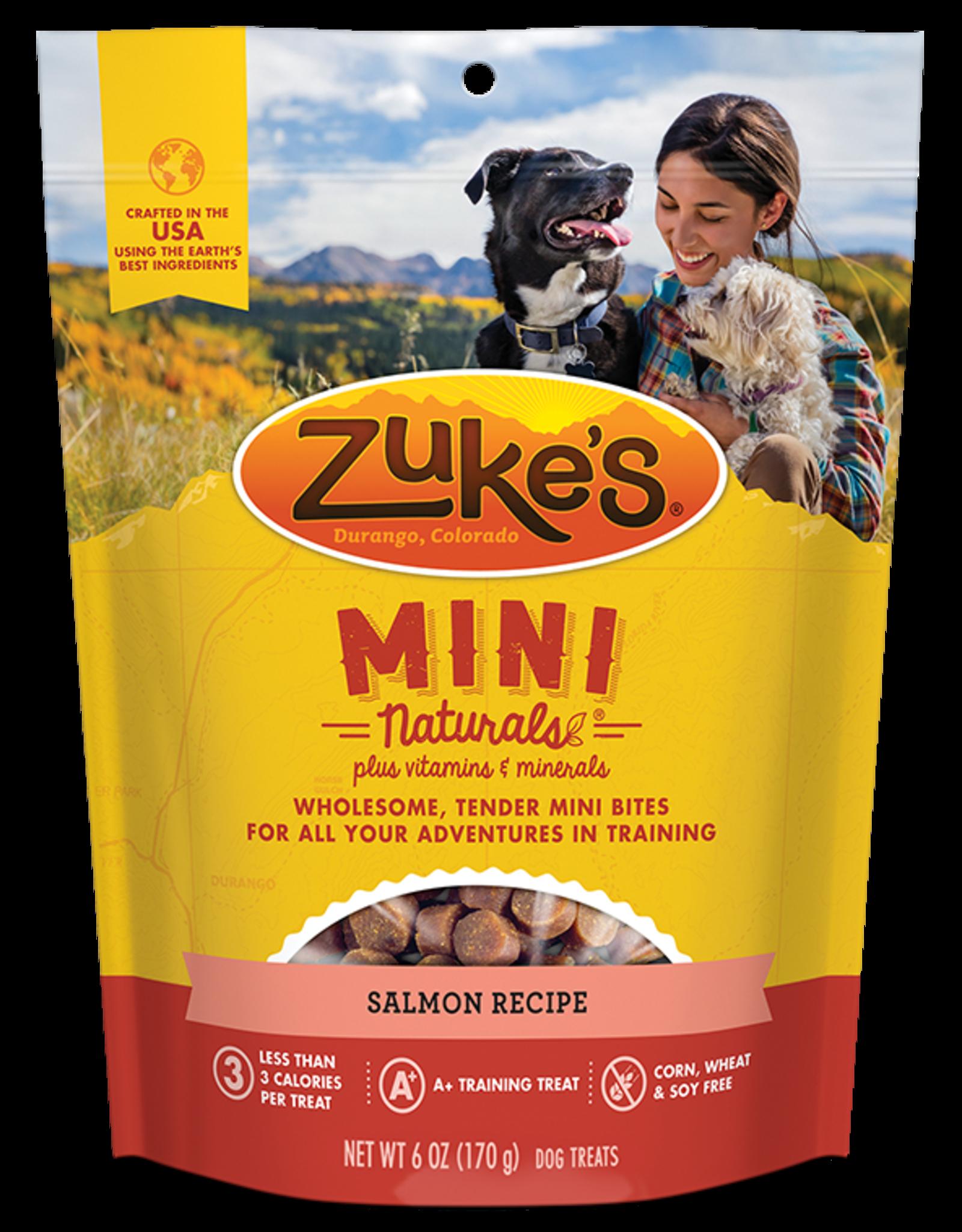 ZUKES Zukes Mini Naturals Salmon 6oz