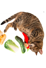 Natural Toys 4 Cats Natural Toys 4 Pets Silver Vine Jumbo Cucumber Cuddle Toy