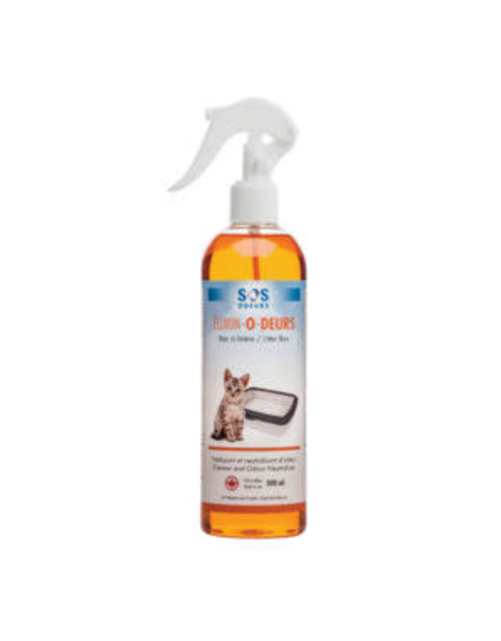 SOS Odeurs SOS Odeurs Litter Box Cleaner / Odour Neutralizer 114 ml