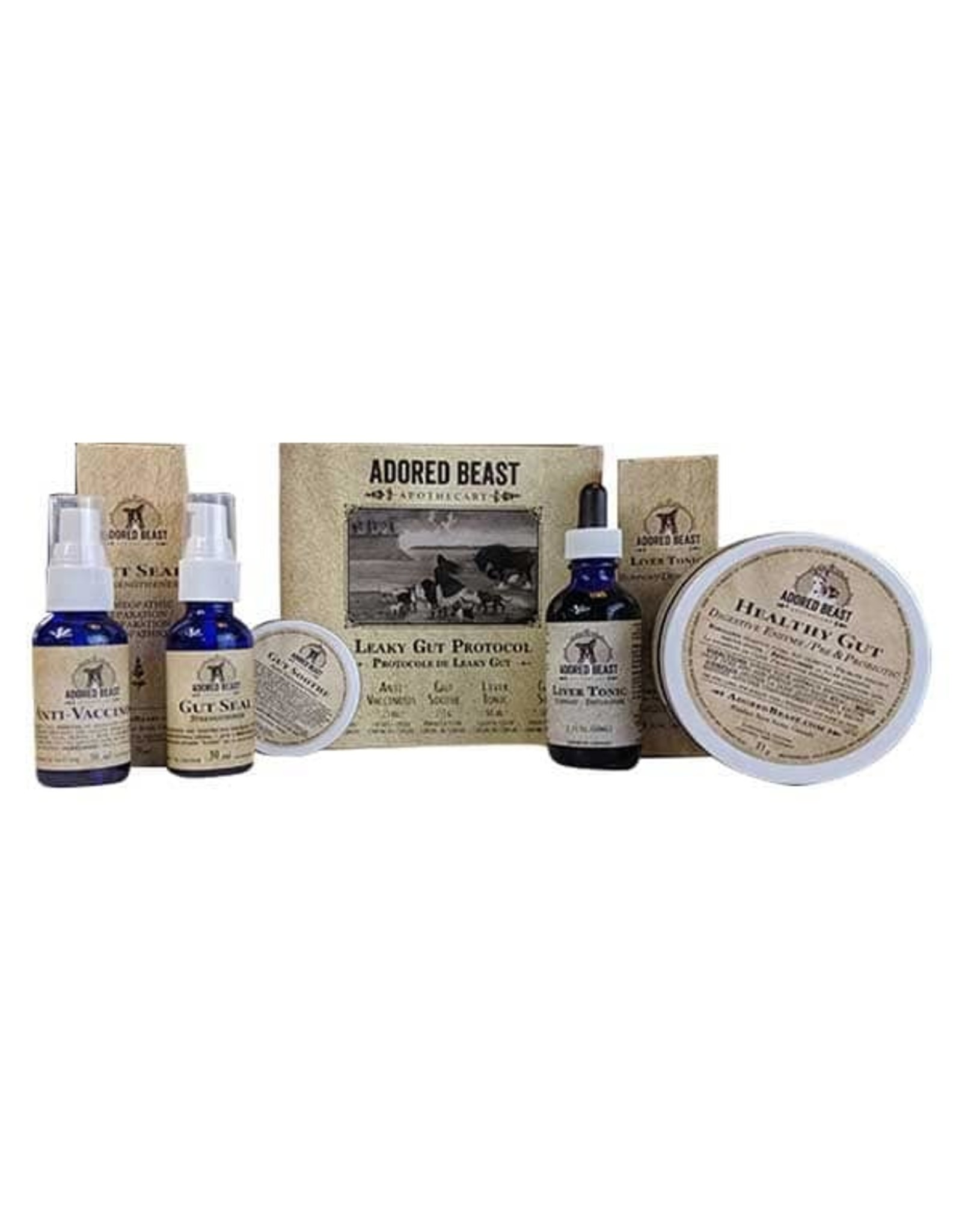 Adored Beast Adored Beast Leaky Gut Protocol Kit