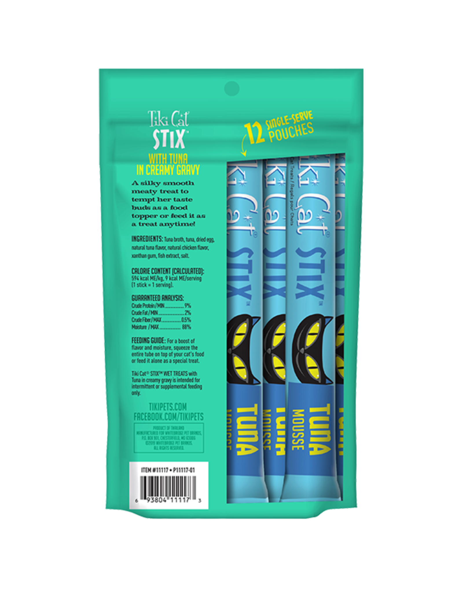 Tiki Cat Tiki Cat Stix Wet Treats